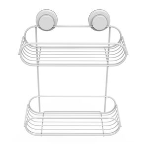 Loc & Tight 2 Tier Bathroom Rack