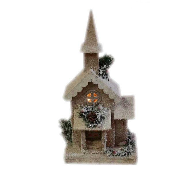 Light Up Wooden Church