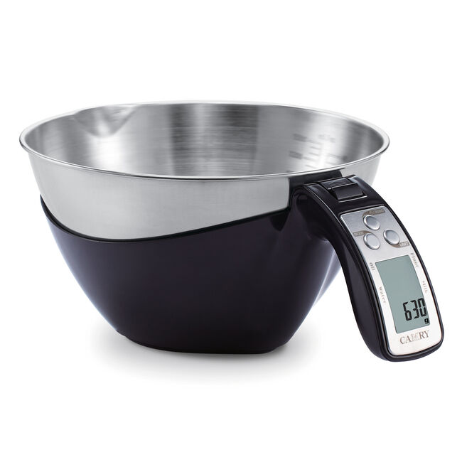 Camry Black Measuring Cup Kitchen Scale