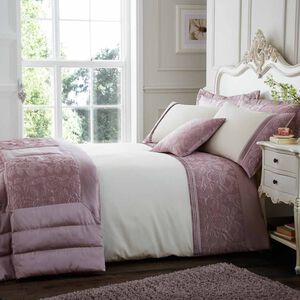 Quilted Rose Duvet Cover