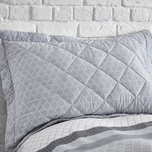 George Geo Grey Pillowshams 50cm x 75cm