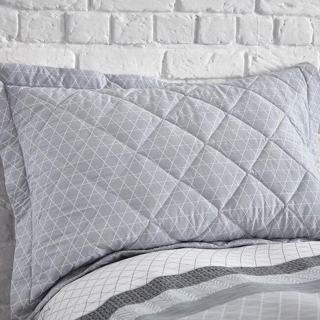 George Geo Grey Pillowshams 50cm x 75cm
