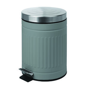 Renzo 5L Slate Grey Trash Can