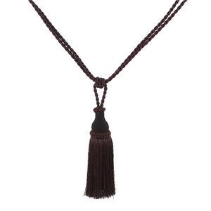 Elegance Medium Rope Aubergine Tieback