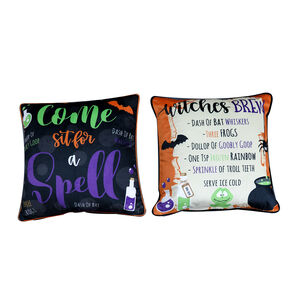 Witches Brew Cushion Cover - 2 Pack 45x45cm