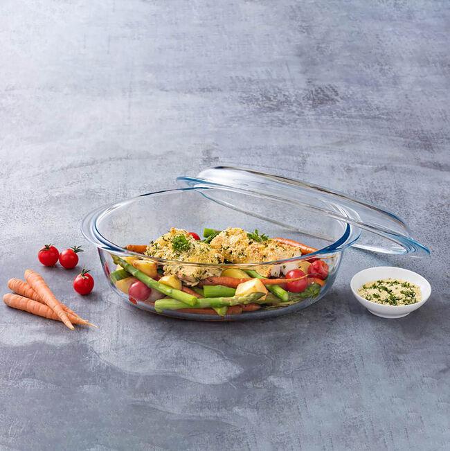 Pyrex Oval Casserole Dish 3L+1L (4L)
