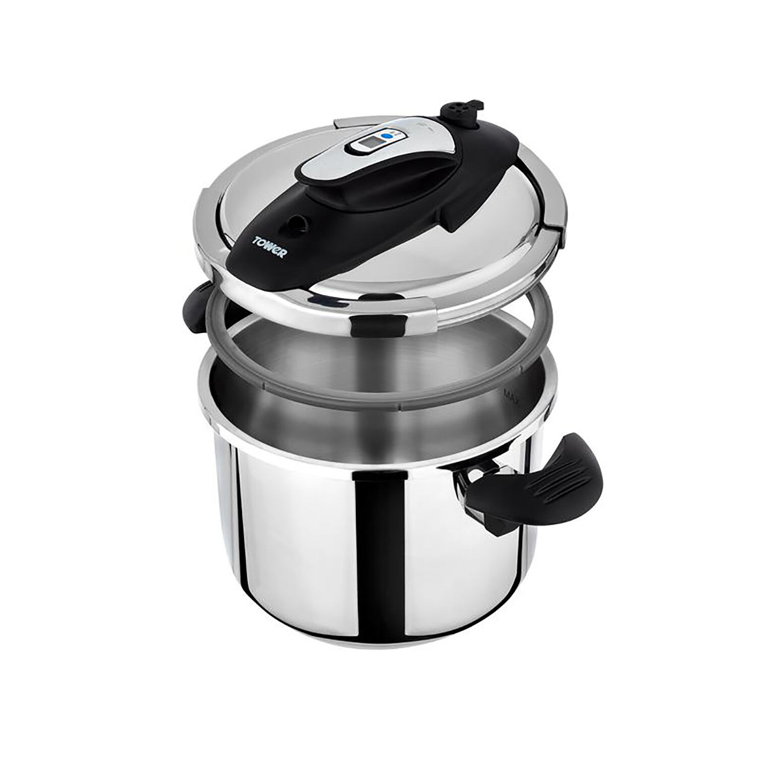 Tower Ultima On Touch Pressure Cooker 6l Home Store More
