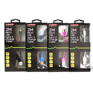 Micro USB Sync and Charge Cable 2M