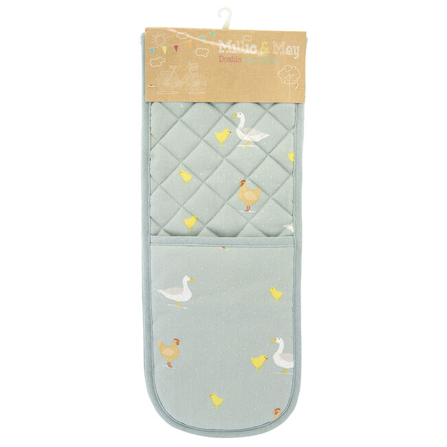 Country Farm Double Oven Glove
