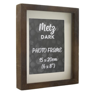 Metz Dark Photo Frame 6x8""