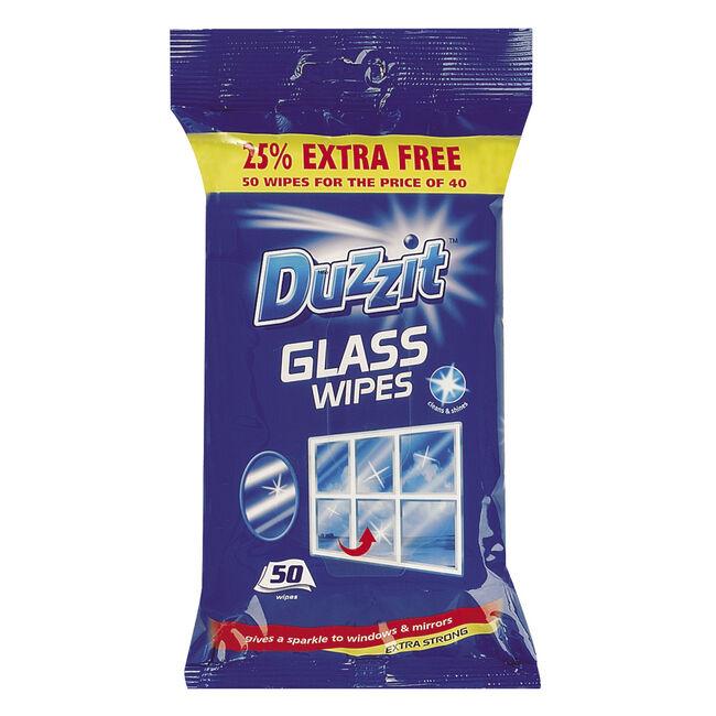 Duzzit Glass 50 Wipes
