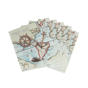 Nautical Napkins 20 Pack