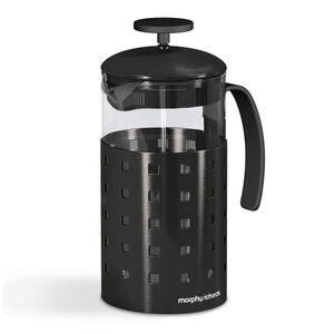 Morphy Richards Accents Black 8 Cup Cafetiere