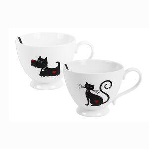 Cat And Dog Design Mug