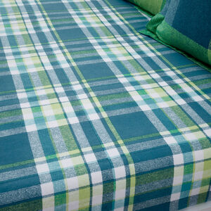 BRUSHED COTTON HARRY CHECK Single Fitted Sheet