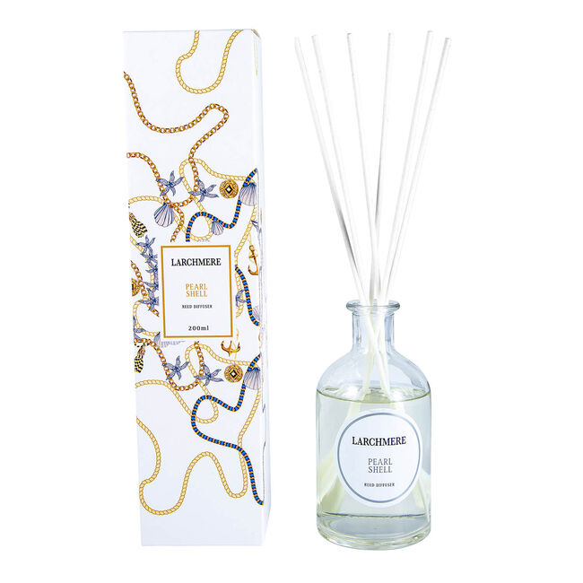 Larchmere Pearl Shell Reed Diffuser 200ml