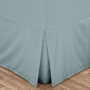 SINGLE VALANCE SHEET Luxury  Percale Duckegg