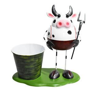 Cow Decoration Plant Pot