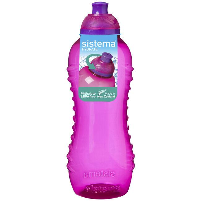 Sistema Twist N Sip Pink Bottle 460ml