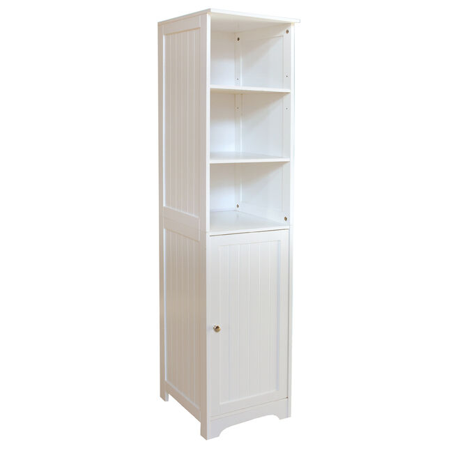 Porto Bathroom Tall Cabinet