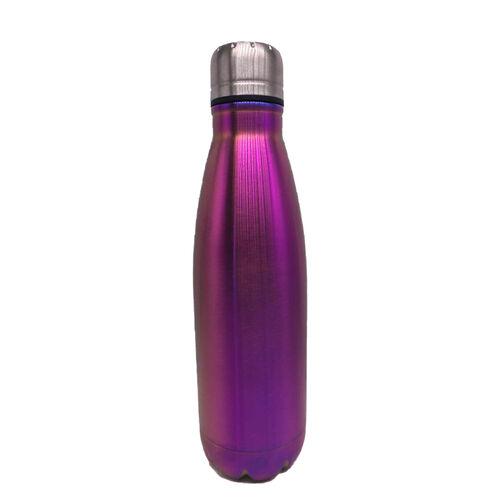 BodyGo Metallic Capsule Bottle 480ml - Purple