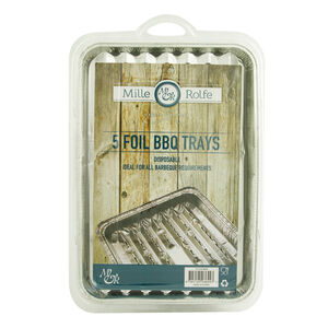 Pack of 5 BBQ Foil Trays
