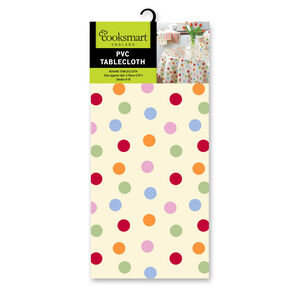 Spots Round Tablecloth 178cm
