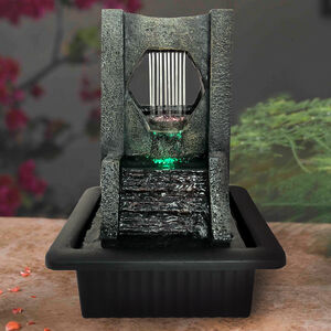 Trickling Slate Tabletop Water Fountain