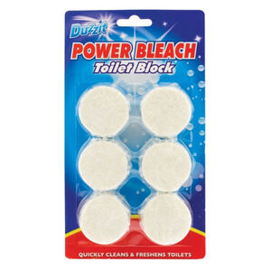 Power Bleach Toilet Block 6 Pack