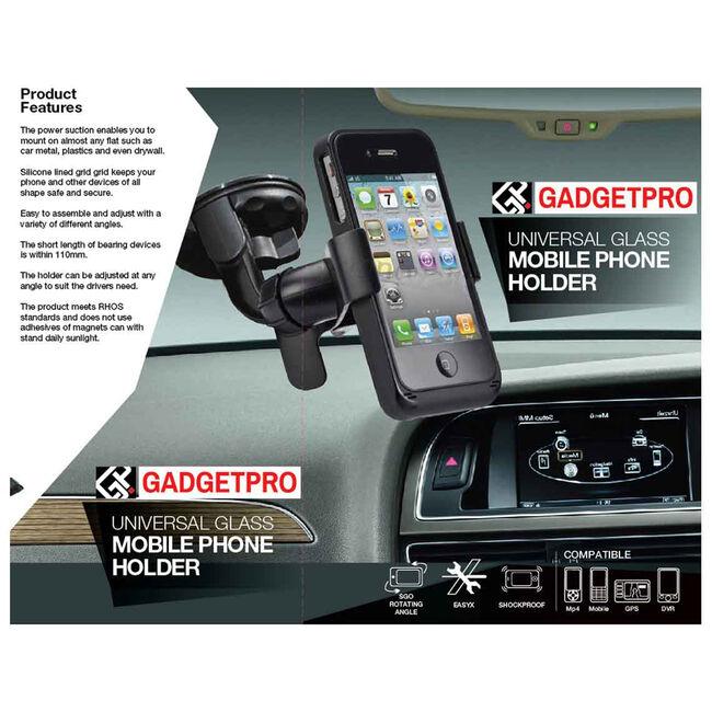 Universal Glass Mobile Phone Holder