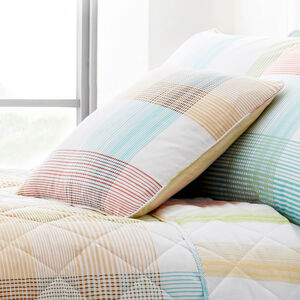 Checkered Stripe Multi Cushion