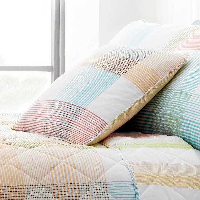 Checkered Stripe Multi Cushion