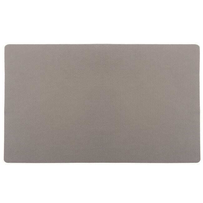 Leather Grey Placemat