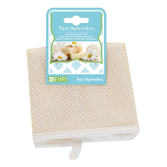 Spa Splendour Soft Weave Wash Cloth