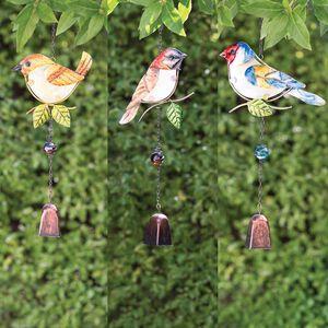 Glass Bird Decorative Garden Windchime