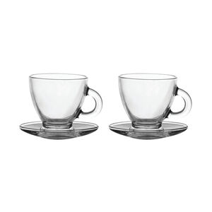 Entertain Cappuccino Cup & Saucer Set