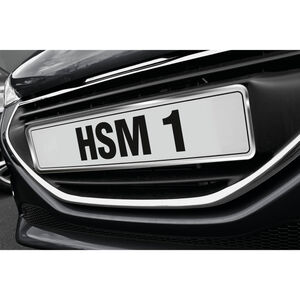 Car Number Plate Surround