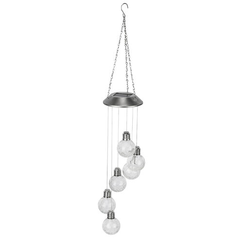 Solar Crackle Ball Wind Chime