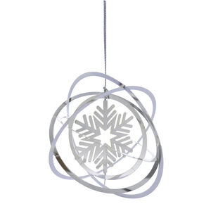 3D Hanging Snowflake Tree Decoration