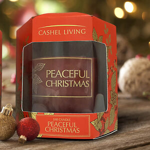 Peaceful Christmas Jar Candle