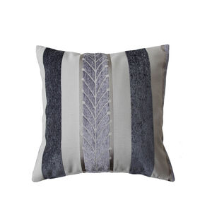 Twohig Stripe Cushion 45x45cm - Charcoal