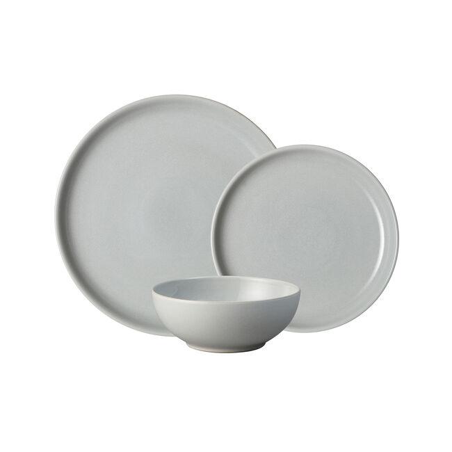 Denby Intro Stone Tableware Set 12 Piece