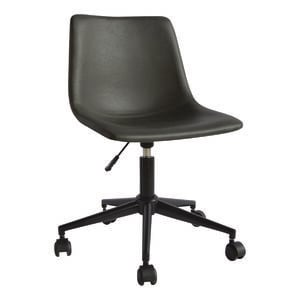 Bay Office Chair Swivel Charcoal