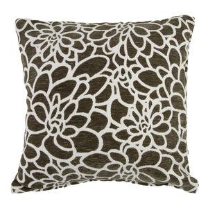 Katie Floral Green Cushion 45cm x 45cm