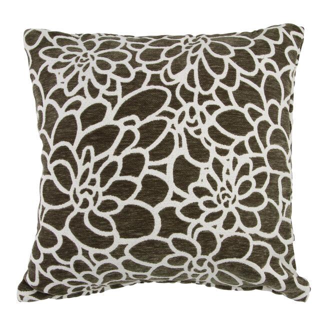 Katie Floral Green Cushion 58cm x 58cm