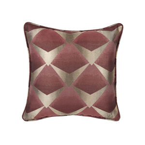 Deco Fan Cushion 45 x 45cm - Wine