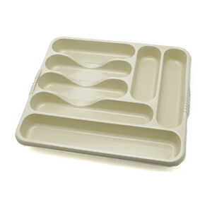 Large Cutlery Tray Cream