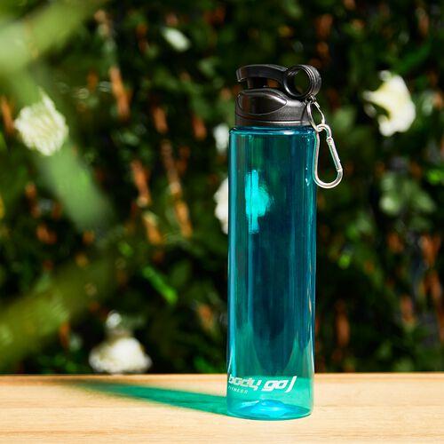 BodyGo Fitness Flip Bottle 750ml - Turquoise