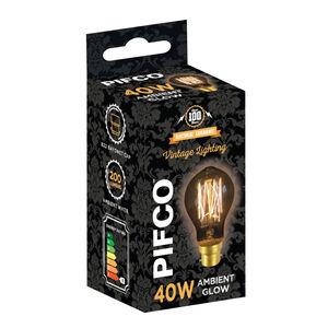 Pifco Vintage 40W Bulb (GLS BC)