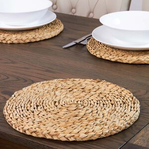 Round Grass Natural Placemat